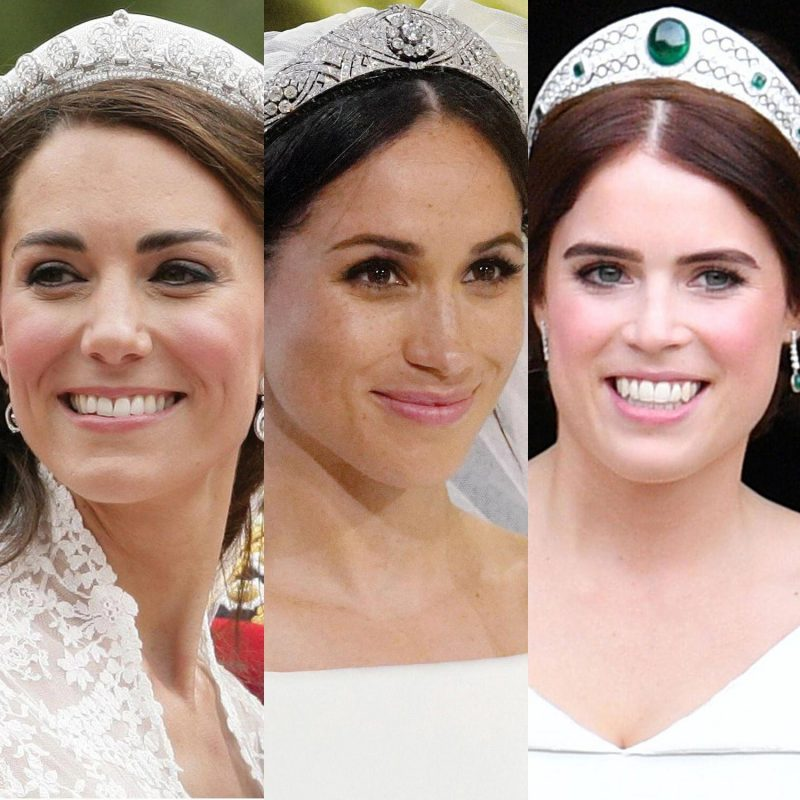 Royal Headwear for Kate, Megan and Eugenie