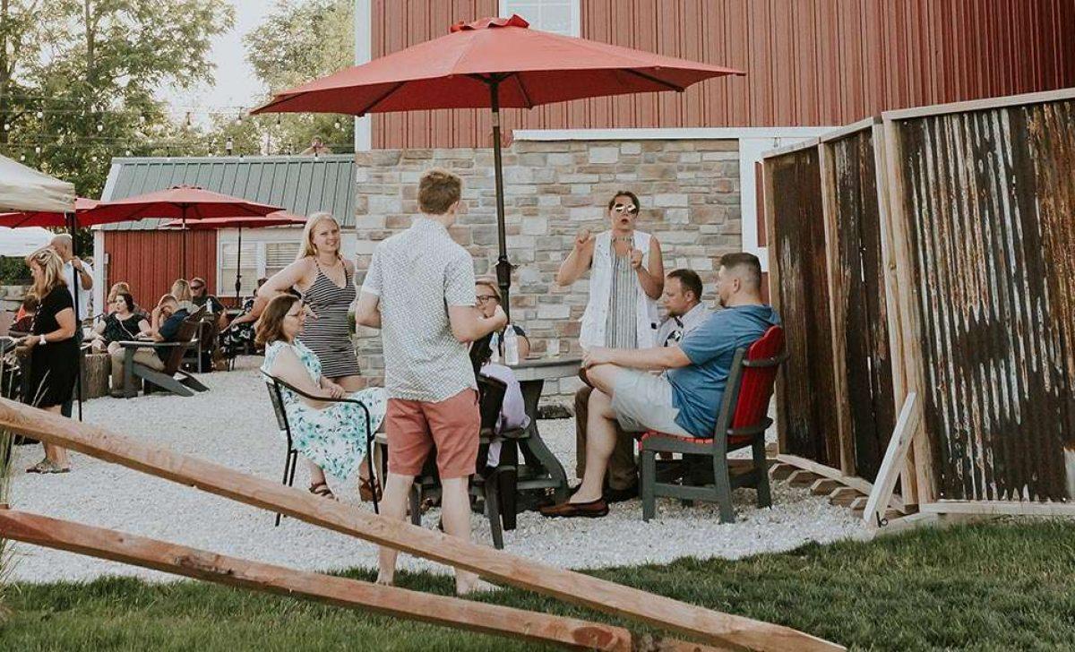 Sam & Alex's Cupola Barn Wedding ©Amanda Ketterhagen Photography