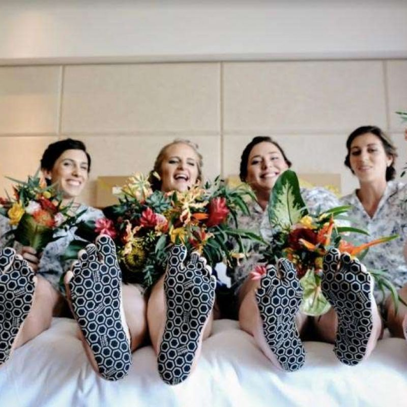 Protect your feet at your beachfront wedding!