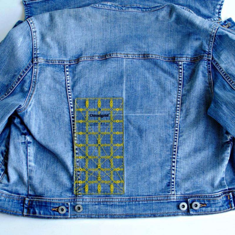 DIY Bridal Jacket - Step 1