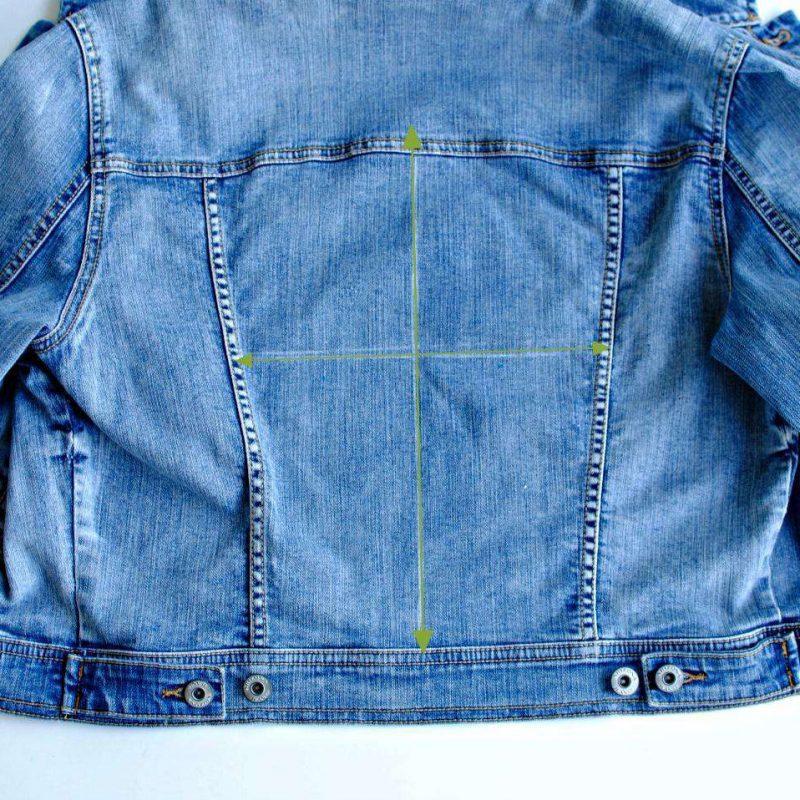 DIY Bridal Jacket - Step 2
